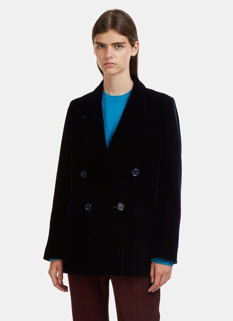 Acne Studios Jarva Double- Breasted Blazer Jacket