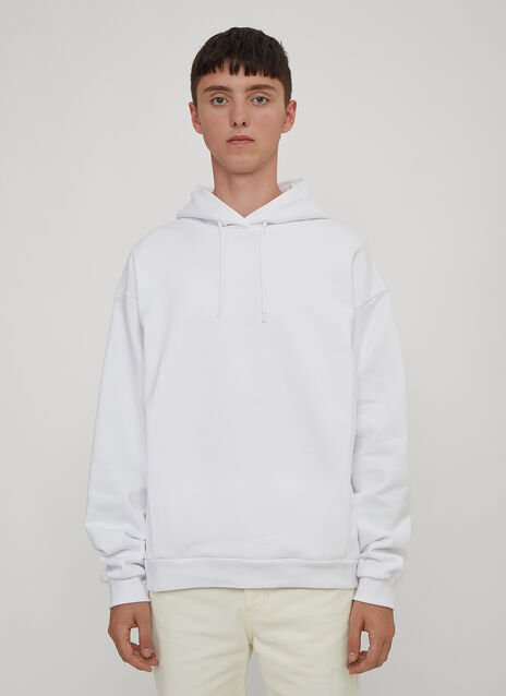 Martine Rose Hooded Logo Back Sweater