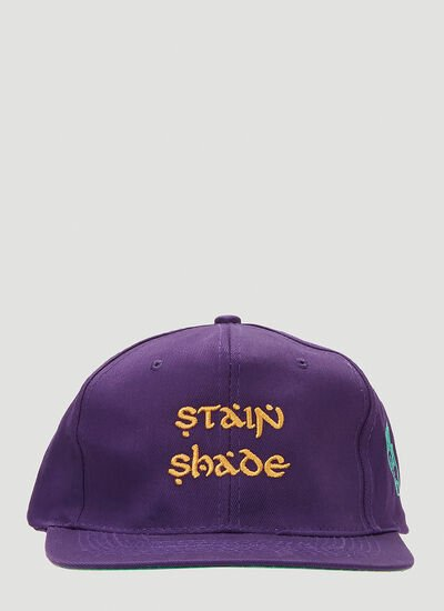 Stain Shade Embroidered Baseball Cap
