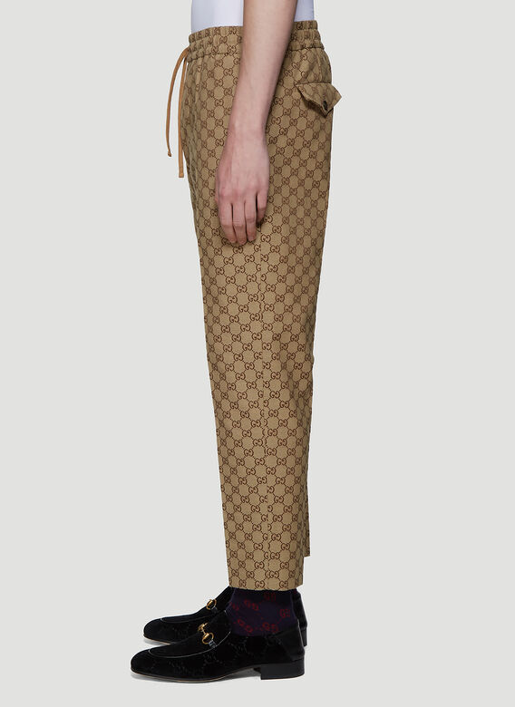 Gucci PANT GG CANVAS 3