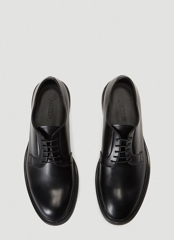 Aiezen Lace-Up Derby Shoes 2