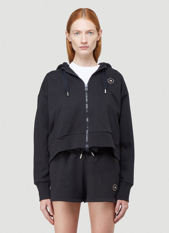 adidas by Stella McCartney FULL ZIP CROPPED HOODIE 1