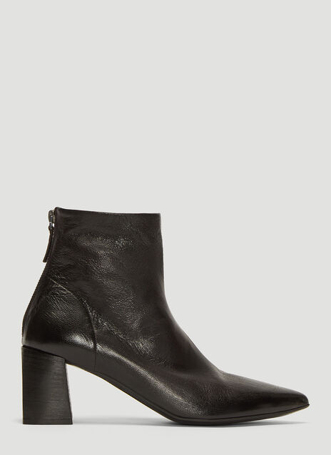 Marsèll Tronchetto Leather Ankle Boots
