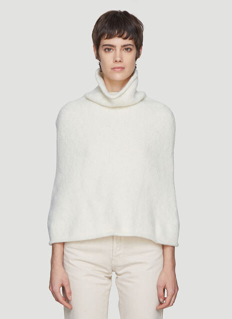 Lauren Manoogian Pyramid Shoulders Knit Top