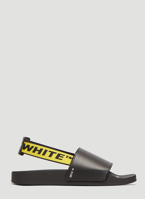 Off-White Industrial Back Strap Silders