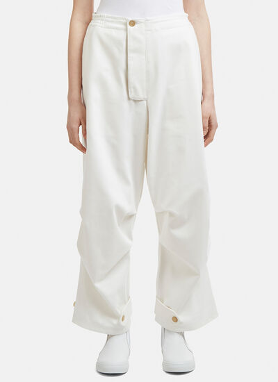 Hed Mayner Button Tab Pants