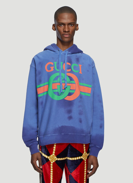 Gucci Interlocking GG Hooded Sweatshirt