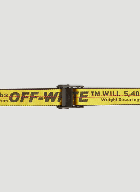Off-White Industrial Web Belt