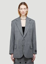 Vetements Cut-Out Tailored Jacket