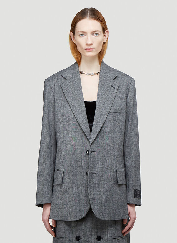 Vetements CUT-OUT TAILORED JACKET 1