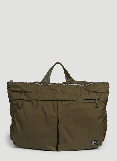 Porter-Yoshida & Co. Ian Oversea Shoulder Bag in Green