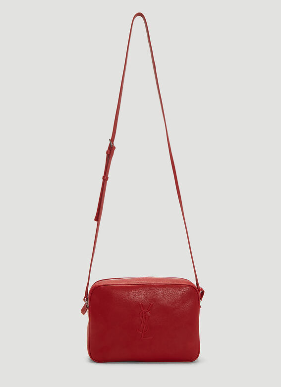 ece9a877382 Saint Laurent Lou Leather Camera Bag in Red | LN-CC
