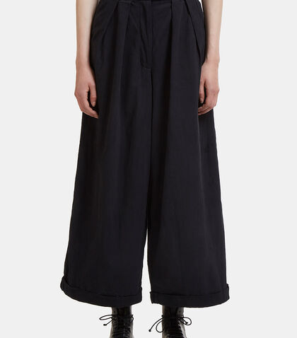 Bridge Wide Leg Twill Pants
