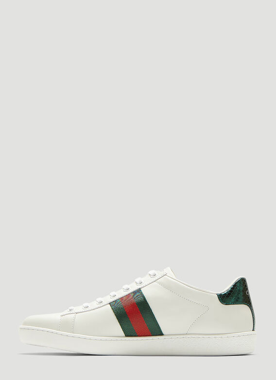 Gucci Ace Bee Embroidered Sneakers 3
