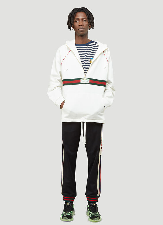 Gucci Half-Zip Hooded Sweatshirt 2