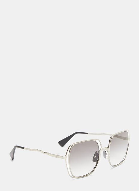 Kuboraum Mask H14 Chiselled Square Sunglasses
