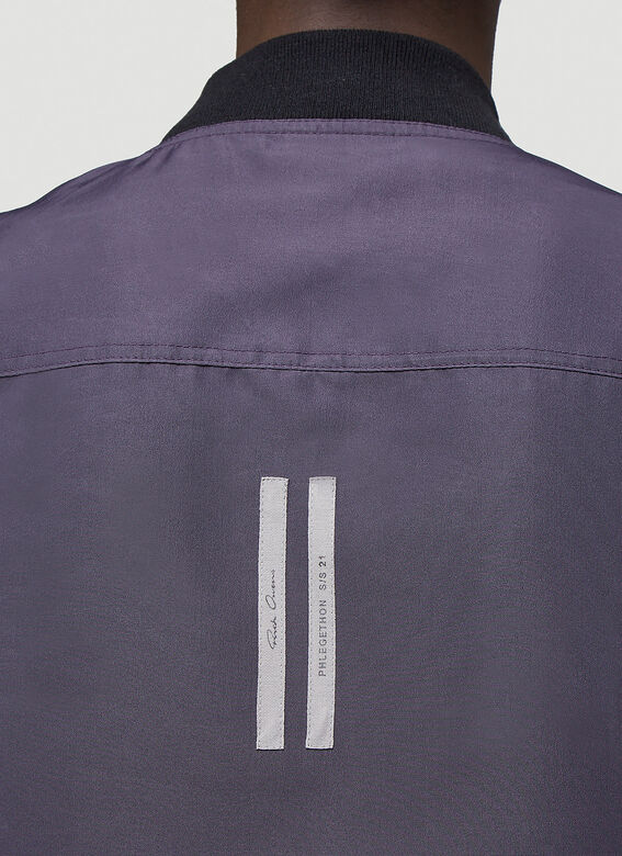 Rick Owens Reversible Cropped Flight Jacket 5