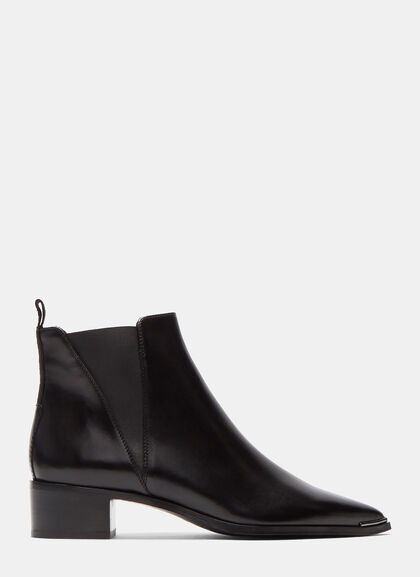 Image of Jensen Leather Ankle Boots