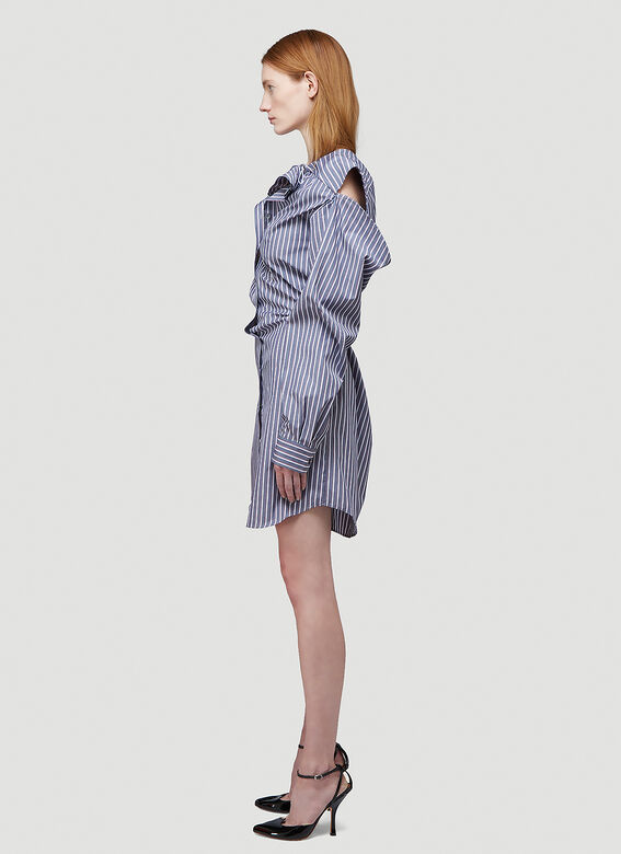 Y/Project CONVERTIBLE SHIRT DRESS 3
