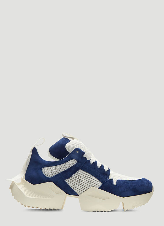 Unravel Project Oversized Sole Sneakers in Blue | LN-CC
