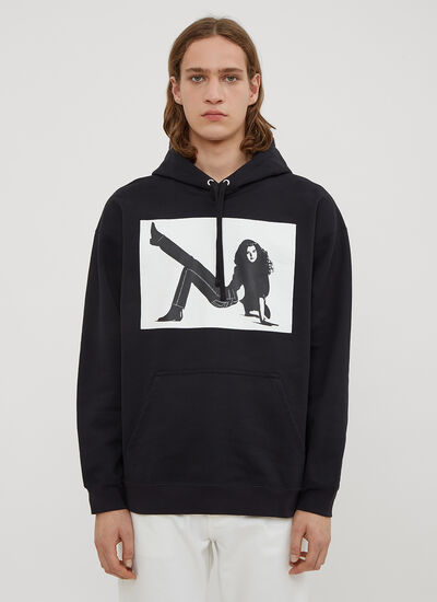Calvin Klein Est 1978 Hooded Icon Printed Sweatshirt