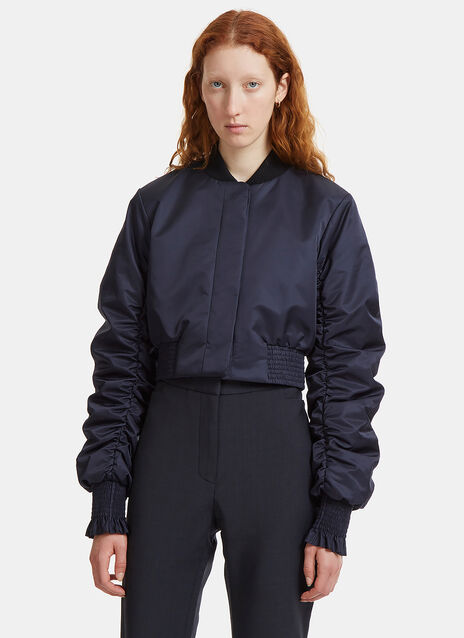 Ellery Minnie Cropped Bomber Jacket