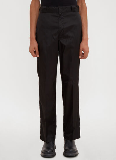 Prada Wide Leg Pants