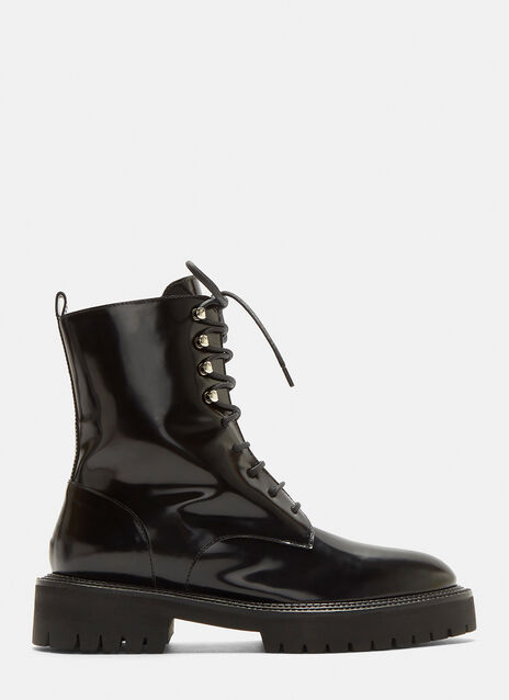 Classic Lace-Up Derby Boots