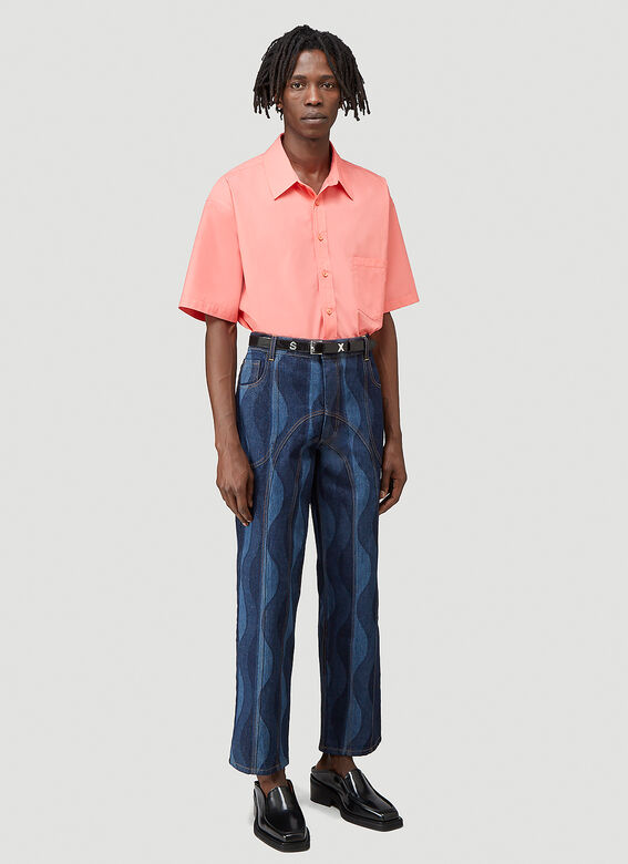 Martine Rose DUEL S/S SHIRT 100%CO 2