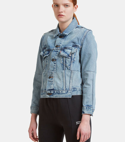 X Levi Reworked Denim Jacket