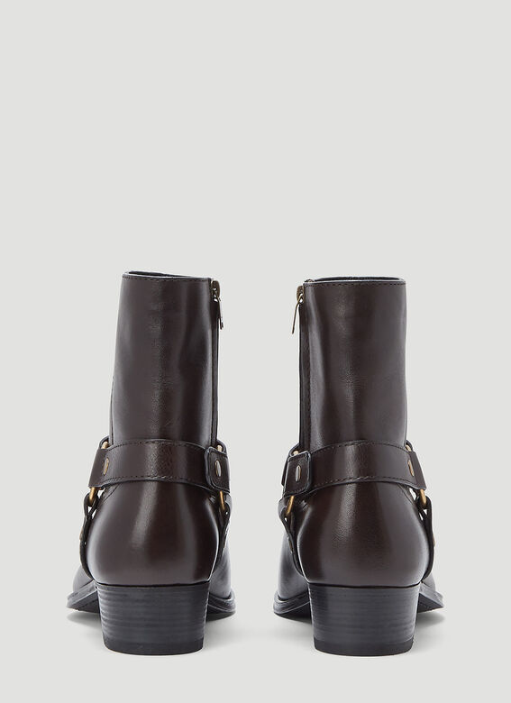 Saint Laurent WYATT 40 HARNESS BOO 4