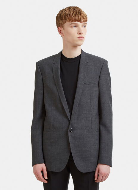 Saint Laurent One Button Suit Jacket