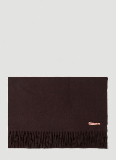 아크네 스튜디오 Acne Studios Canada New Scarf in Brown