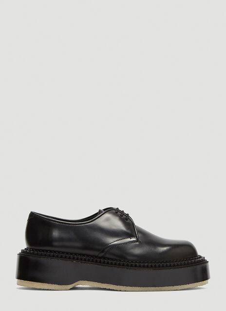 Adieu Chunky Sole Derby Shoes
