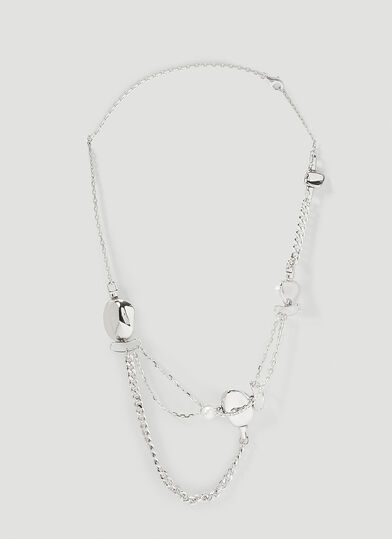 PUBLISHED BY Delicate Bones Necklace Two Necklace in Silver