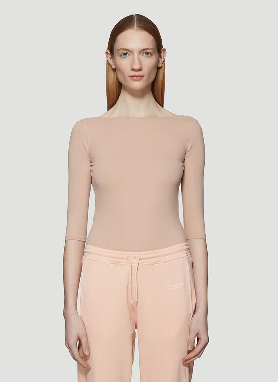 Acne Studios Boatneck Leotard