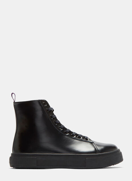 Kibo Lace-Up Ankle Boots
