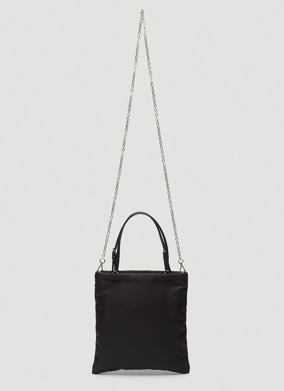 Prada NYLON TOTE WITH STRAP 4