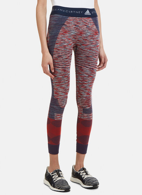 Adidas By Stella Mccartney Jacquard Active Leggings