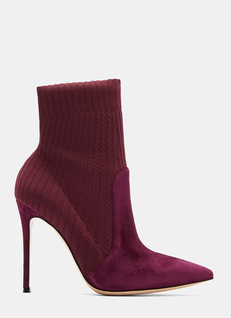 Gianvito Rossi Katie High Stiletto Ankle Boots