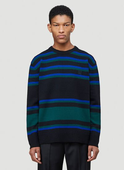Acne Studios Striped Knit Sweater
