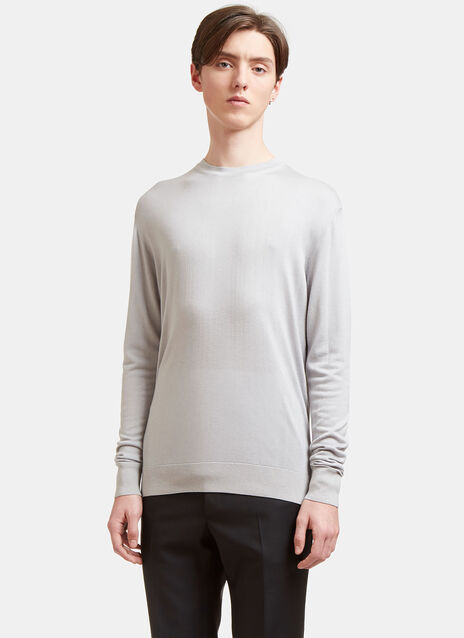 Aiezen Crew Neck Long Sleeved Top