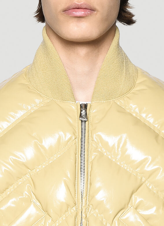 Bottega Veneta Leather Padded Jacket 4