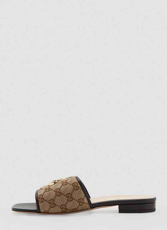 Gucci GG SLIDES OPEN TOES SANDAL 3