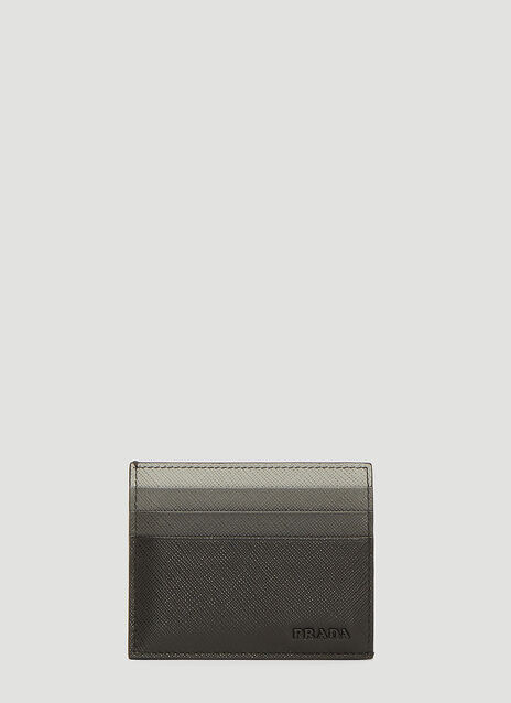 Prada Saffiano Leather Credit Card Holder