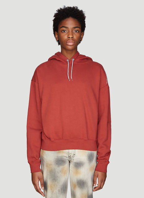 Eckhaus Latta Hooded Logo Sweatshirt