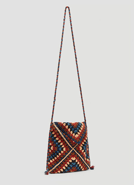 Story Mfg. Crochet Shoulder Bag