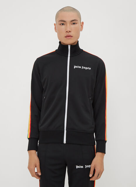 Palm Angels Rainbow Stripe Track Top