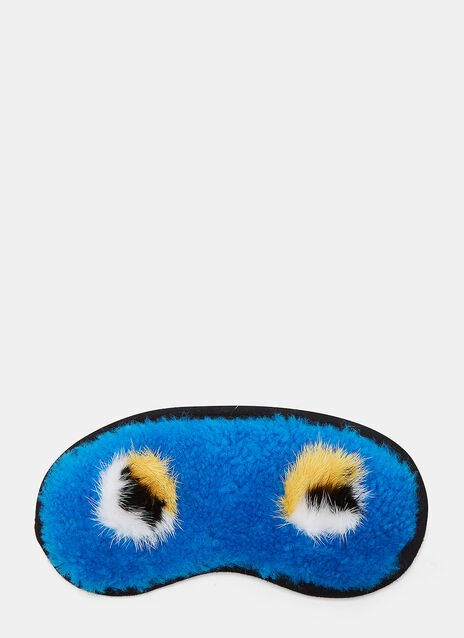Shearling Eye Mask