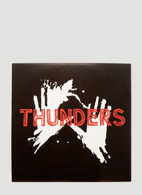 Mr Thunders BLACKFONT Vinyl